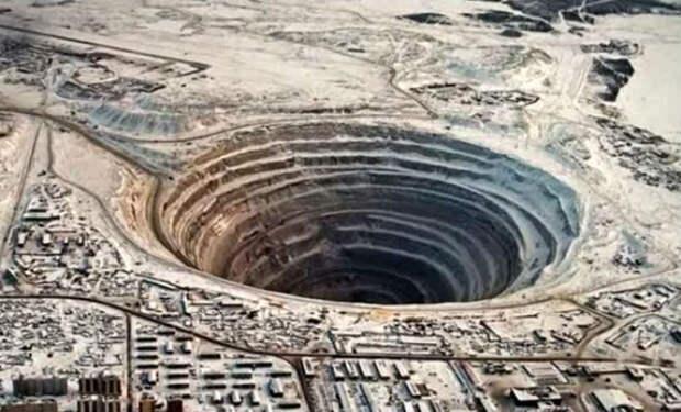 Бросаем камень в самую глубокую дыру в земле