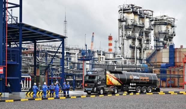 На25% увеличила «Газпром нефть» мощность терминала наМосковском НПЗ