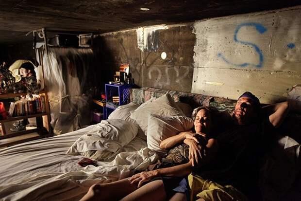 Преисподняя города грехов: жизнь бездомных вмрачных тоннелях Лас-Вегаса