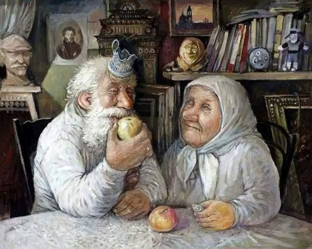 Дед, бабка и брачный контракт