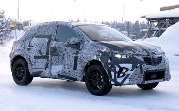 Renault готовит к премьере новый Captur