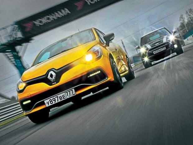 Тест Renault Clio RS и MINI Cooper S: по следам Купера