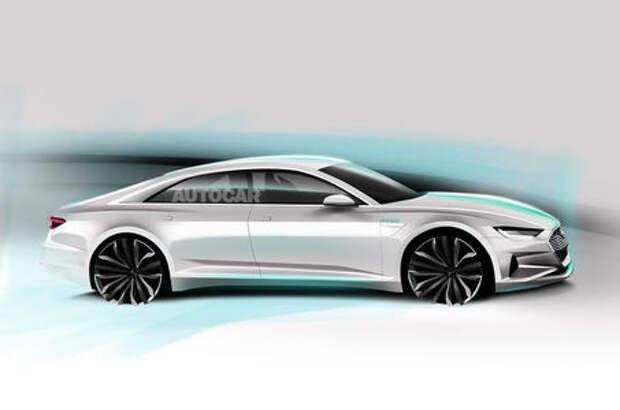 «Электричку» в лидеры: Audi готовит модель A9 e-tron