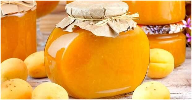 Быстрый абрикосовый джем на зиму: цвет и аромат как у свежих фруктов