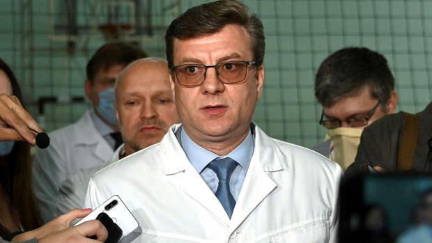 Полиция не подтвердила информацию об обнаружении главы минздрава Омской области