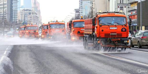 Промывка дорог спецсредством в Головинском районе пройдет в сентябре