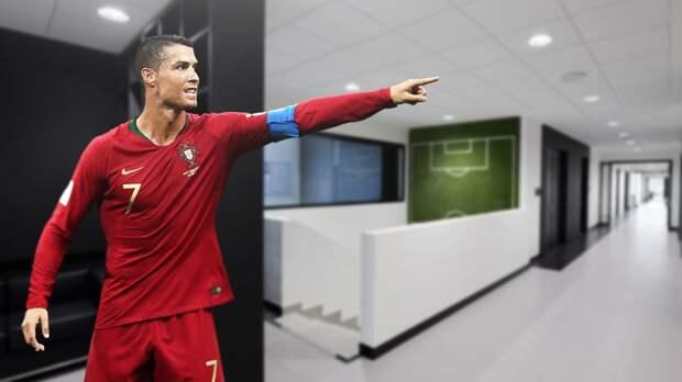 Криштиану настоял на переносе матча Португалия — Азербайджан в Турин. Ему очень нравится тренировочная база «Юве»