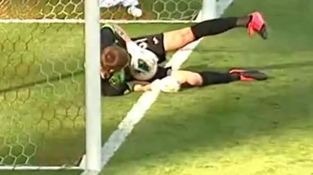 «Спартак» лишился победы из-за шикарного сейва вратаря в конце матча. В клубе уверены, что мяч пересек линию: видео