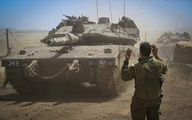 Израиль вшаге отназемной операции вГазе: спецназ итанки подтянулись кгранице