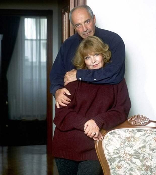 Супруги Валентин Гафт и Ольга Остроумова.