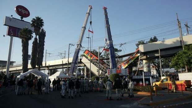 Мехико привлечет международную компанию для расследования крушения поезда