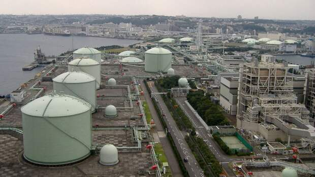 Крупнейшее в мире хранилище СПГ появится в Китае