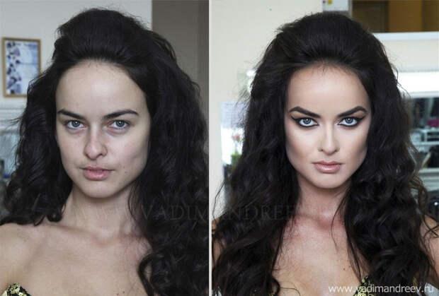 makeup10 Невероятно, но факт: визажист творит настоящие чудеса!