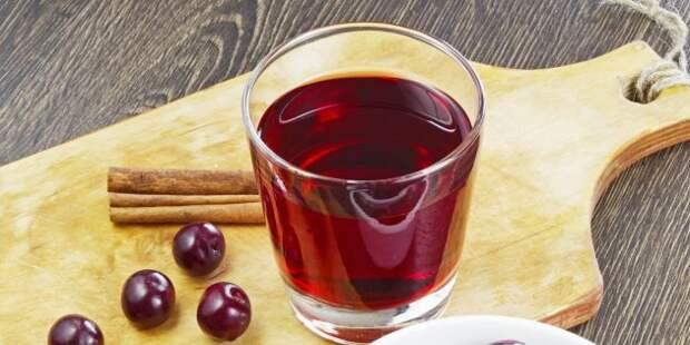 Полезные напитки перед сном: вишнёвый сок
