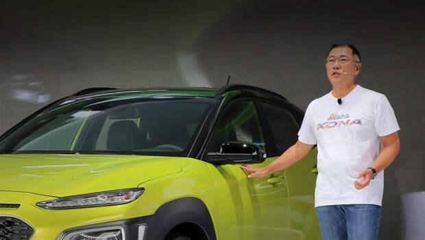 Новым главой Hyundai Motor Group назначен Чон Ыйсон