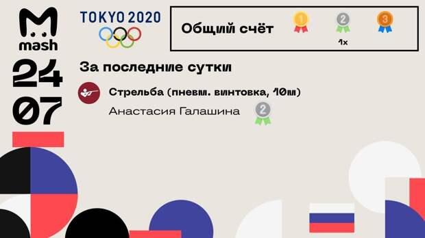 Старт дан! Первую российскую медаль на Олимпиаде получила 24-летняя Анастасия...