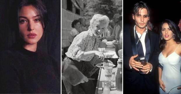 14 ярких знаменитостей на снимках из прошлого