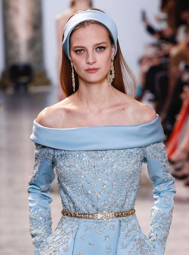 Вышивка высокой моды в новой весенней коллекции Elie Saab. Часть 2