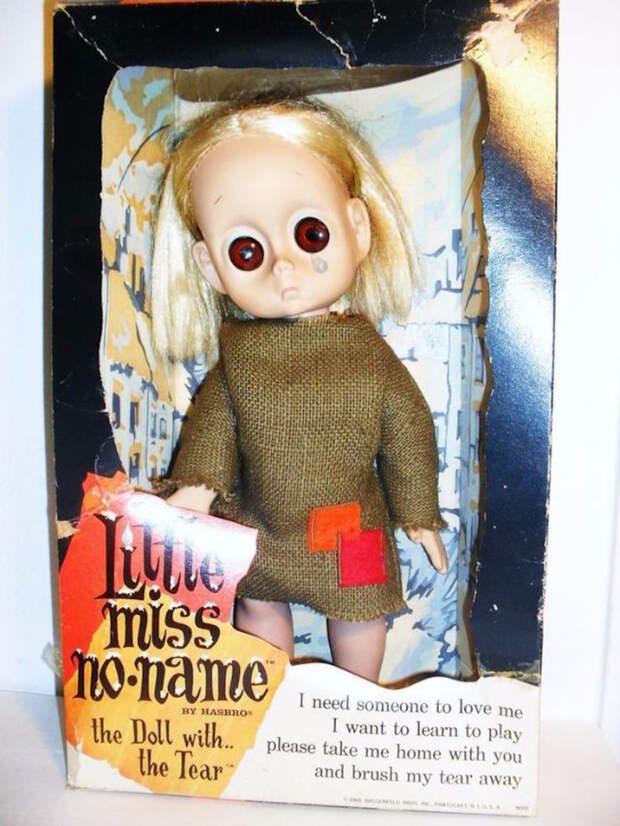 Макленькая мисс, у которой нет имени дети, игрушки, ностальгия