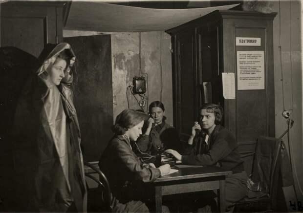 Библиотека в блокадном Ленинграде