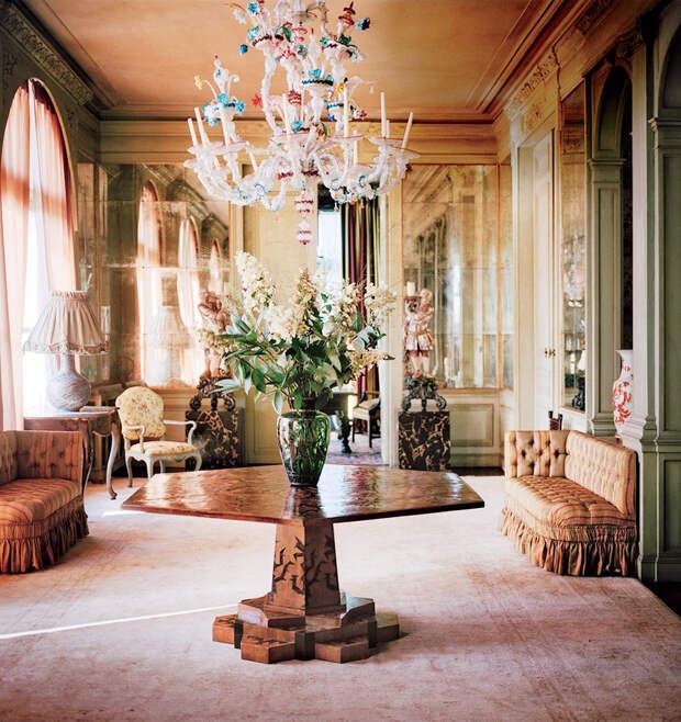 Бельгийский сад и особняк дизайнера Дриса Ван Нотена. Просто прелесть!