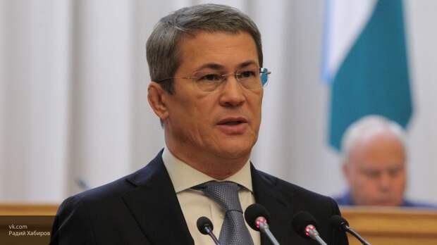 Глава Башкортостана поздравил жителей ДНР с Днем Республики