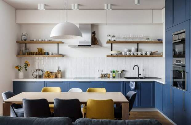 Удобная кухня: модные тенденции, продиктованные временем