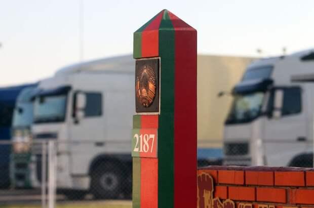 Белоруссия вводит плату завыезд наУкраину, вПольшу иЛитву