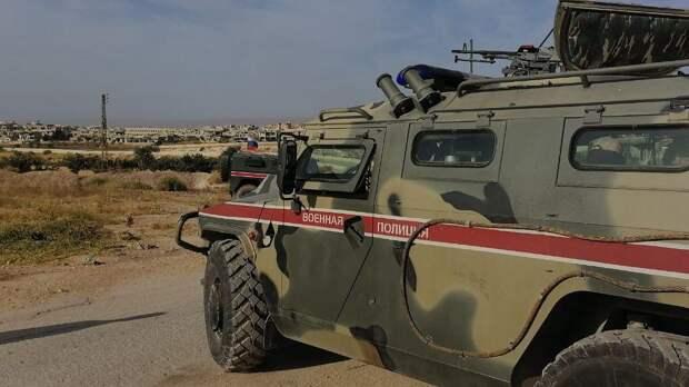 Военная полиция РФ заблокировала колонну американских войск в Сирии