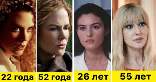 18 актрис в своих первых и последних ролях