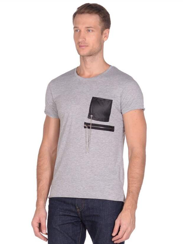 карманы на мужских спортивных футболках