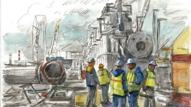 Выставка двух картин об индустриальных пейзажах пройдет в Барнауле