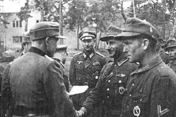 Иностранные добровольческие легионы и корпуса СС на Восточном фронте