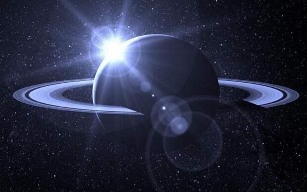 НЛО, «зажигающий звезды», промчался возле Сатурна