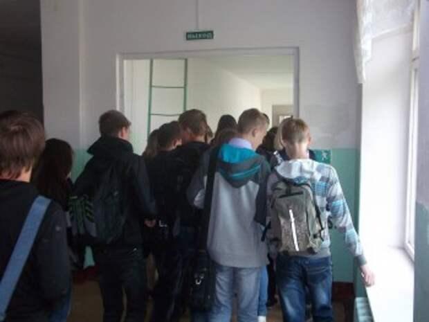 В Калуге эвакуировали школу №4