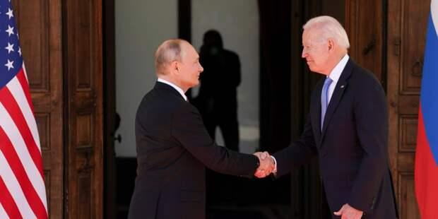 Переговоры Путина и Байдена продолжаются