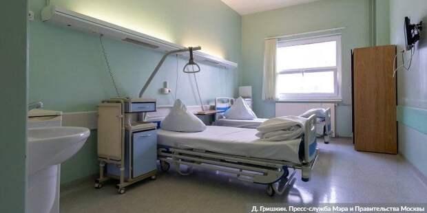 Антирекорд: В Москве за сутки госпитализировано 1049 человек с COVID-19. Фото: Д. Гришкин mos.ru