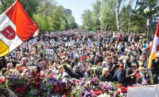 День Победы на Украине - горькое послесловие. Юлия Витязева