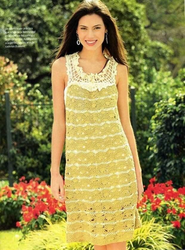 Что бы там не говорили, а вязаные платья это невероятно красиво, женственно и всегда модно!
