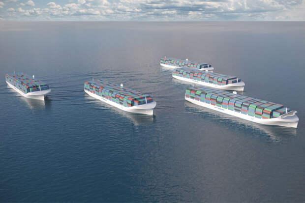 Беспилотные  суда маршрут