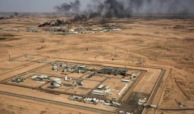 ВИраке потушили пожар нанефтяном месторождении