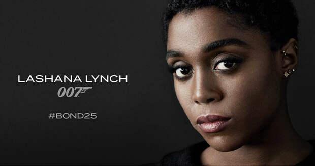 Нового агента 007 сыграет темнокожая актриса Лашана Линч