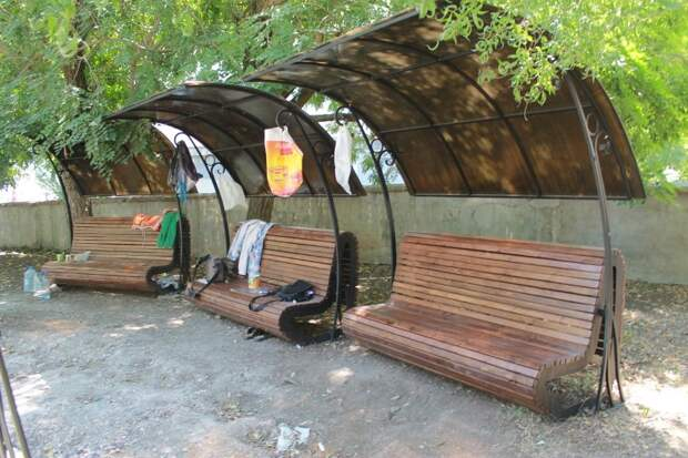 Сквер на Кожанова откроют через месяц