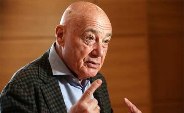 На фото: телеведущий Владимир Познер