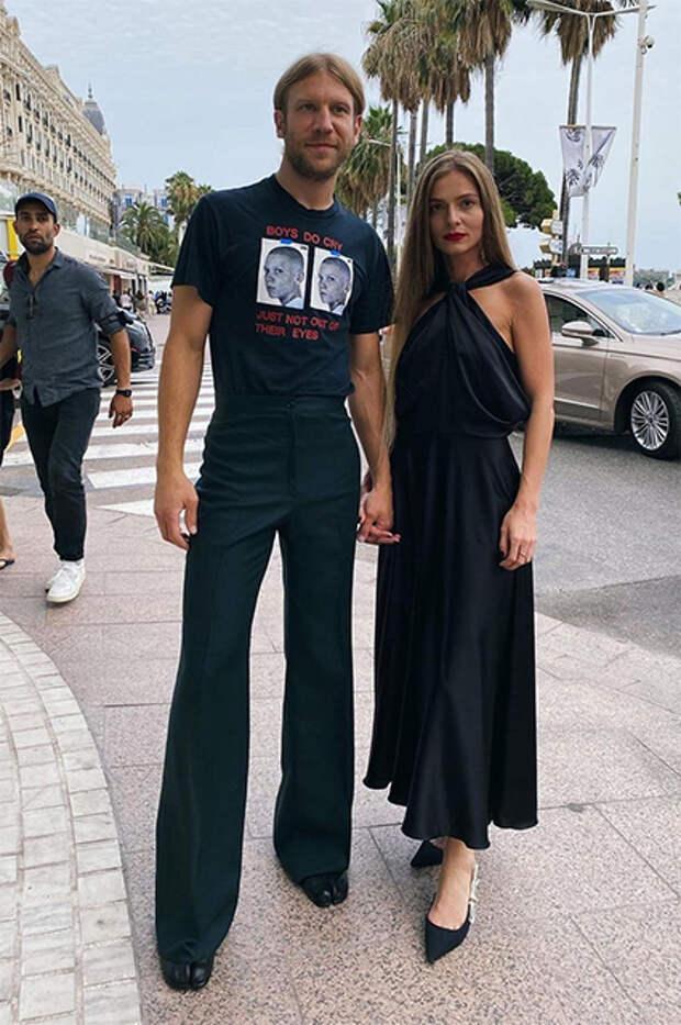 Иван Дорн с женой