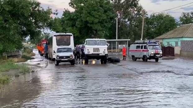 Как жителей села Приозерного защитят от повторного наводнения