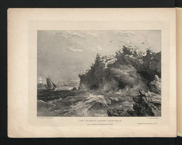 Черно-белый остров Святой Елены