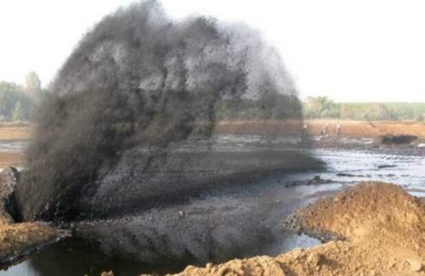 Потепление разрыв нефтепровода
