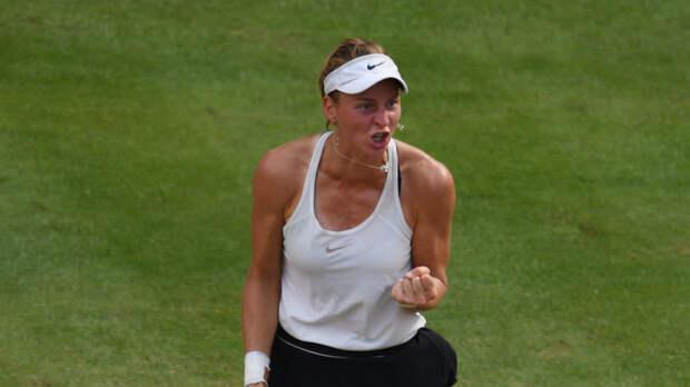 Самсонова победила Бенчич и выиграла первый титул WTA в карьере