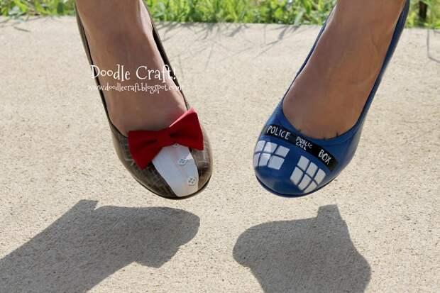 обувь на комиккон своими руками